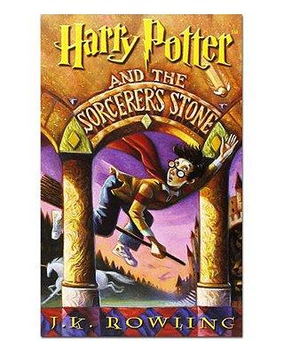 Ímã Decorativo Capa de Livro Harry Potter - ICL05