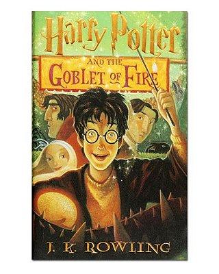 Ímã Decorativo Capa de Livro Harry Potter - ICL08