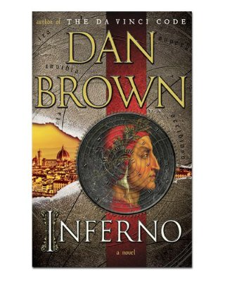 Ímã Decorativo Capa de Livro Inferno - ICL28