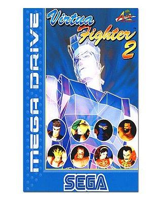 Ímã Decorativo Capa de Game - Virtua Fighter 2 - ICG66