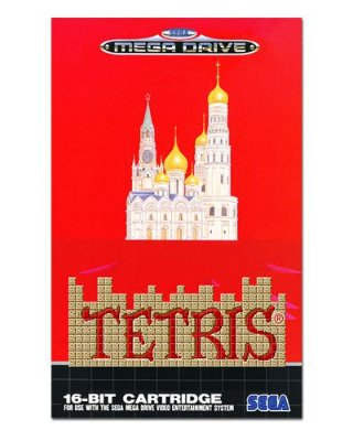 Ímã Decorativo Capa de Game - Tetris - ICG67
