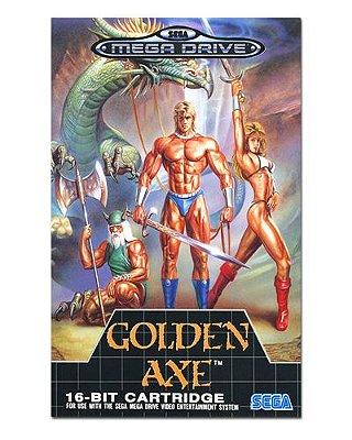 Ímã Decorativo Capa de Game - Golden Axe - ICG74