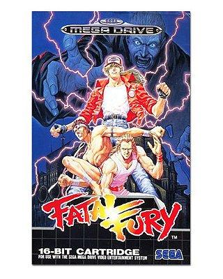 Ímã Decorativo Capa de Game - Fatal Fury - ICG75