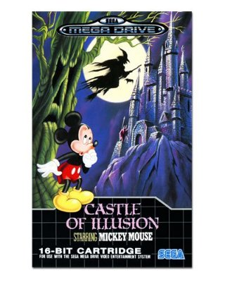 Ímã Decorativo Capa de Game - Castle of Illusion - ICG82