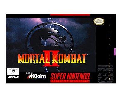 Ímã Decorativo Capa de Game - Mortal Kombat 2 - ICG93