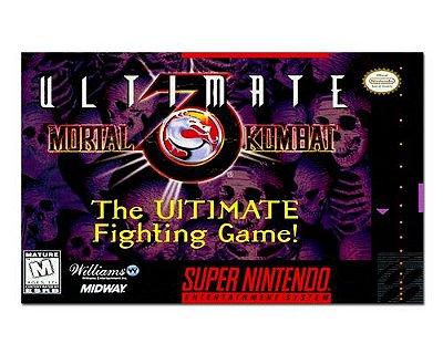 Ímã Decorativo Capa de Game - Mortal Kombat Ultimate - ICG97