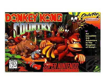 Ímã Decorativo Capa de Game - Donkey Kong - ICG98