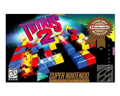 Ímã Decorativo Capa de Game - Tetris 2 - ICG100