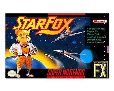 Ímã Decorativo Capa de Game - Star Fox - ICG103