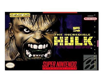 Ímã Decorativo Capa de Game - The Incredible Hulk - ICG106