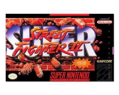 Ímã Decorativo Capa de Game - Super Street Fighter 2 - ICG110