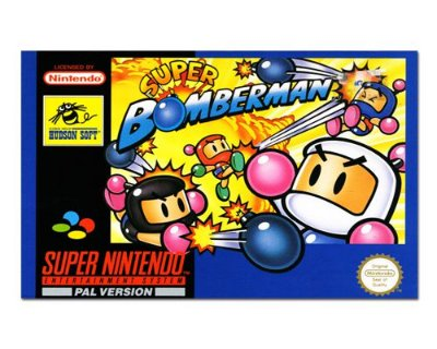 Ímã Decorativo Capa de Game - Super Bomberman - ICG116