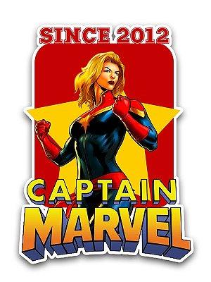 Ímã Deluxe Capitã Marvel - Since Marvel - IMS02
