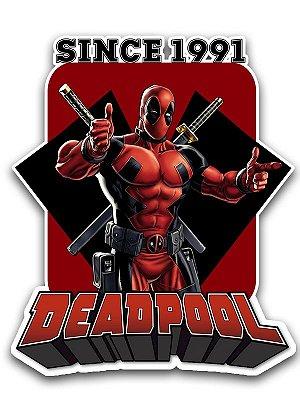 Ímã Deluxe Deadpool - Since Marvel - IMS04