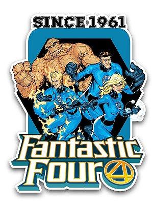 Ímã Deluxe Quarteto Fantástico - Since Marvel - IMS16