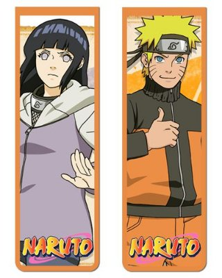 Pack Marcador Magnético - Naruto e Hinata - Naruto - PKN26