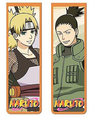 Pack Marcador Magnético - Shikamaru e Temari - Naruto - PKN27