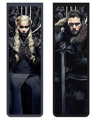 Pack Marcador Magnético - Jon Snow e Daenerys - Game of Thrones - PKN28