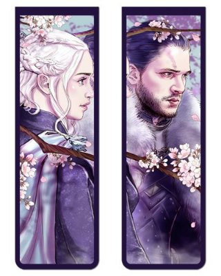 Pack Marcador Magnético - Jon Snow e Daenerys - Game of Thrones - PKN29