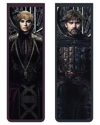 Pack Marcador Magnético - Jaime e Cersei - Game of Thrones - PKN31