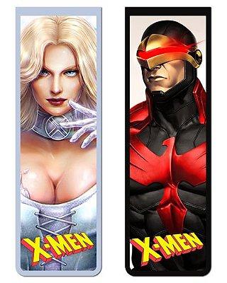 Pack Marcador Magnético - Ciclope e Emma Frost - X-Men - PKN37