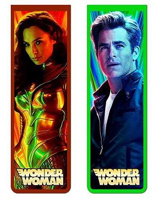 Pack Marcador Magnético - Steve e Wonder Woman - PKN45