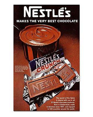 Ímã Decorativo Publicidade Chocolate - Vintage - IPV01