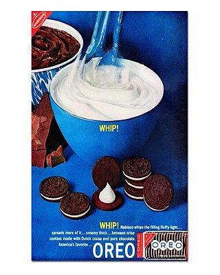 Ímã Decorativo Publicidade Biscoito - Vintage - IPV03