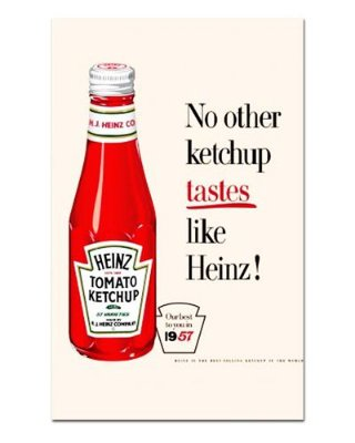 Ímã Decorativo Publicidade Ketchup - Vintage - IPV13