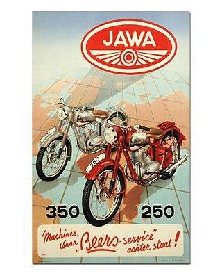 Ímã Decorativo Publicidade Motos - Vintage - IPV27