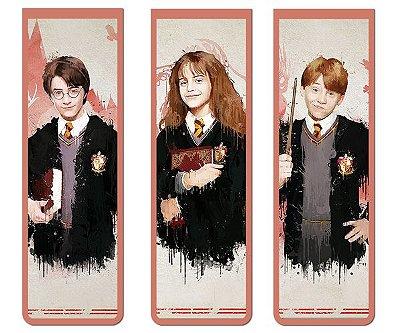 Pack Marca Página Magnético Harry Potter - KIM04