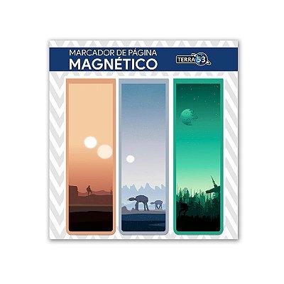 Pack Marca Página Magnético Star Wars - KIM01