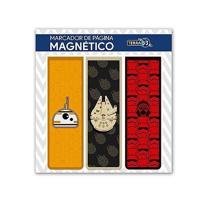 Pack Marca Página Magnético Star Wars - KIM03