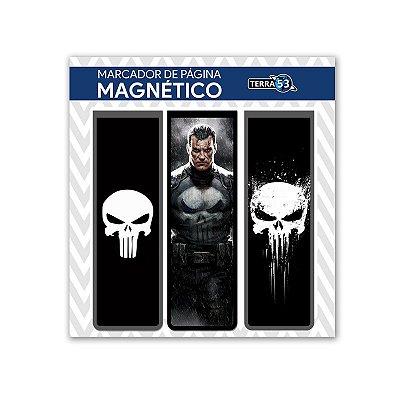 Pack Marca Página Magnético Justiceiro - Marvel - KIM09