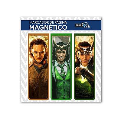 Pack Marca Página Magnético Loki - Marvel Comics - KIM12