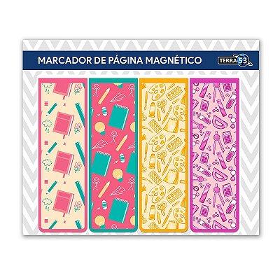 Pack Marcador de Página Magnético Escolar - School - KIE02