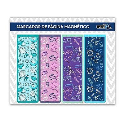 Pack Marcador de Página Magnético Escolar - School - KIE03