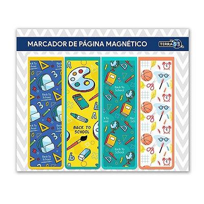 Pack Marcador de Página Magnético Escolar - School - KIE04