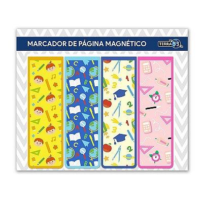 Pack Marcador de Página Magnético Escolar - School - KIE11