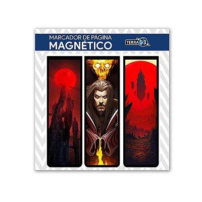 Pack Marca Página Magnético Castlevania - KIM17