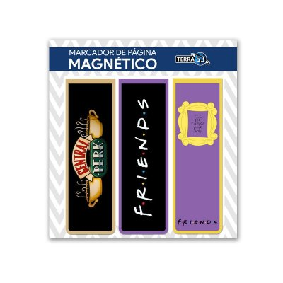 Pack Marca Página Magnético Friends - KIM32