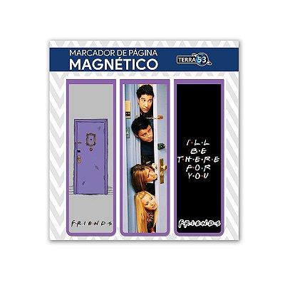 Pack Marca Página Magnético Friends - KIM33