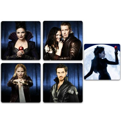 Ímãs Decorativos Once Upon a Time - Pack 10 unid
