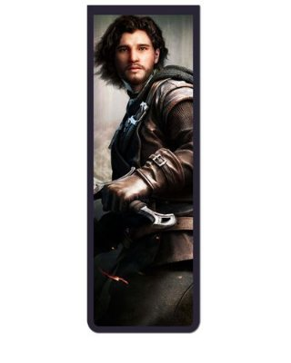 Marcador De Página Magnético Jon Snow - Game of Thrones - GOT27
