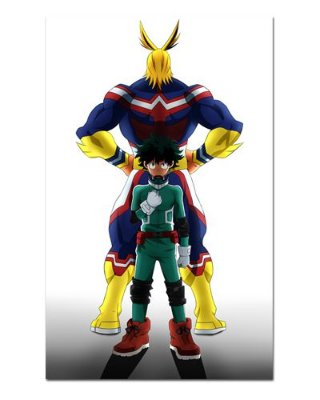 Ímã Decorativo Midoriya e All Might - My Hero Academia - MHA010