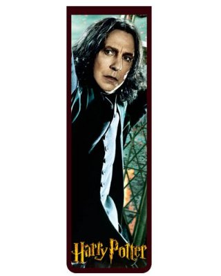 Marcador De Página Magnético Severus Snape - Harry Potter - HP33