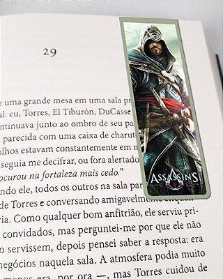 Marcador De Página Magnético Ezio Auditore - Assassin's Creed - AC01