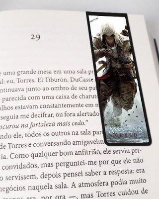 Marcador De Página Magnético Connor Kenway - Assassin's Creed - AC04