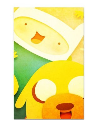 Ímã Decorativo Finn e Jake - Adventure Time - IAT001