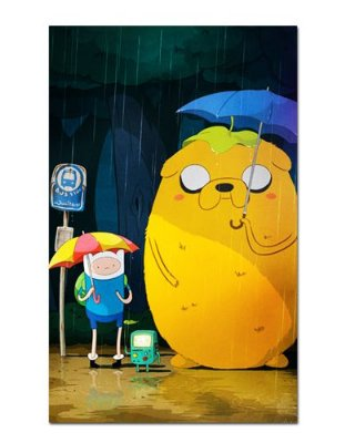 Ímã Decorativo Finn, Jake e Beemo - Adventure Time - IAT005